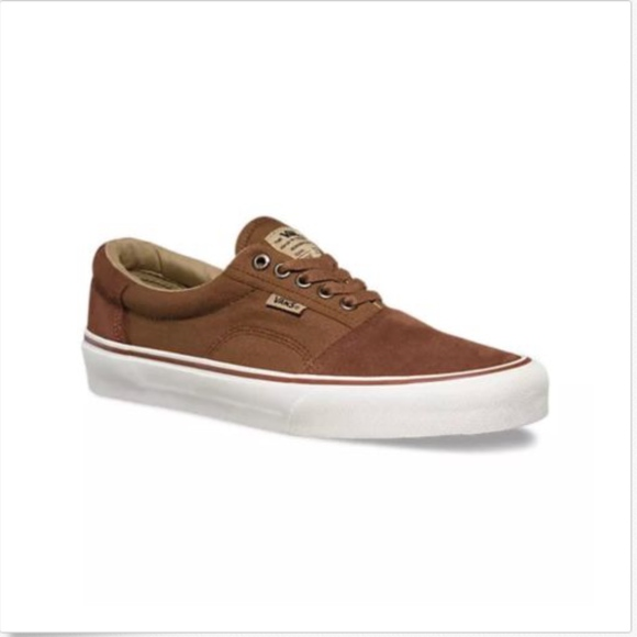 7c1a56cda5b5 Vans Rowley Solos Chestnut Brown Skateboard Shoes